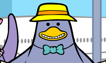 Lily Penguin in Europe - SpeakyPlanet