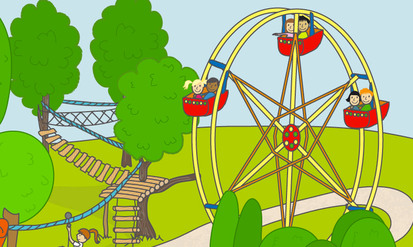 Le parc d'attractions 1 - SpeakyPlanet