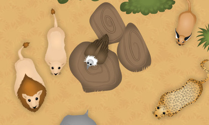 Savanna animals in the plain - SpeakyPlanet