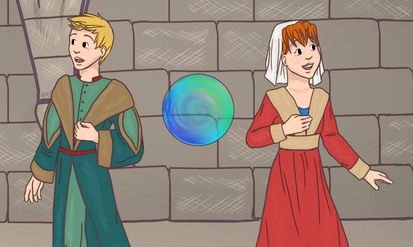 Alex & Sara : back to the Middle Ages - SpeakyPlanet