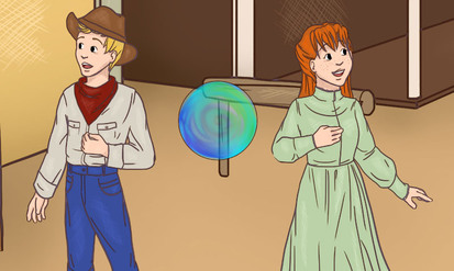 Alex & Sara : dans le Far West - SpeakyPlanet
