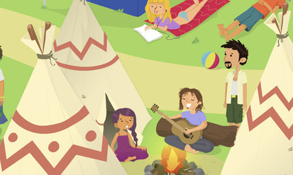 Family holidays - SpeakyPlanet
