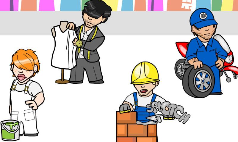 An die Arbeit: auf der Baustelle! - SpeakyPlanet