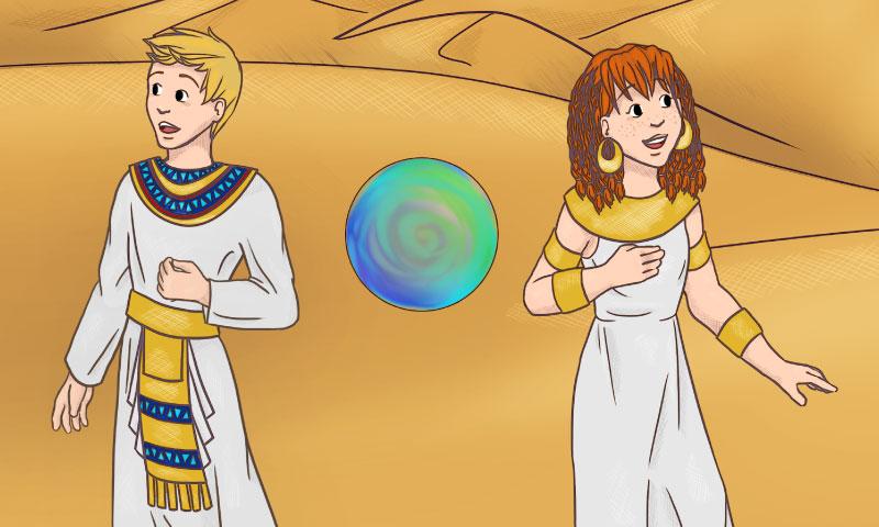 Alex & Sara : aventure en Egypte - SpeakyPlanet