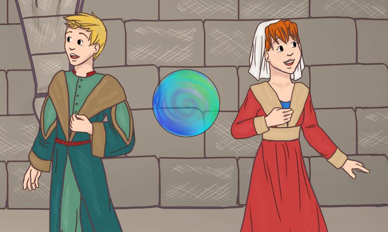 Alex & Sara : retour au Moyen-Âge - SpeakyPlanet
