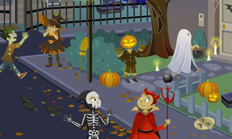 Halloween-Abend - SpeakyPlanet