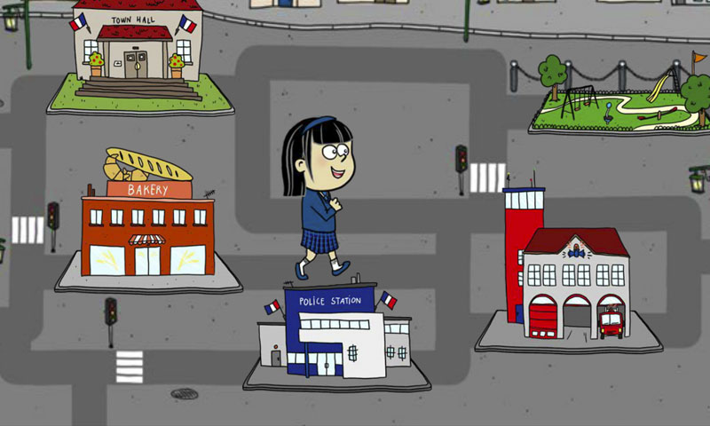 Direction le centre-ville ! - SpeakyPlanet