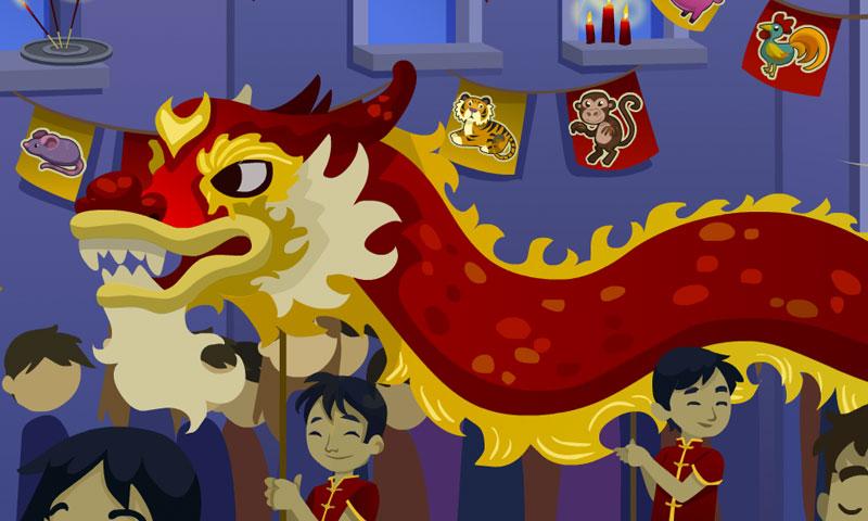 Chinese New Year night - SpeakyPlanet
