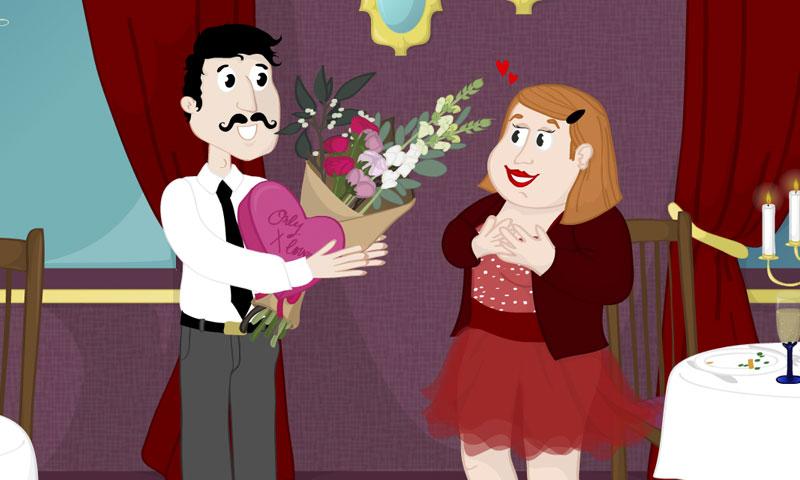 Le mystère de la Saint-Valentin - SpeakyPlanet