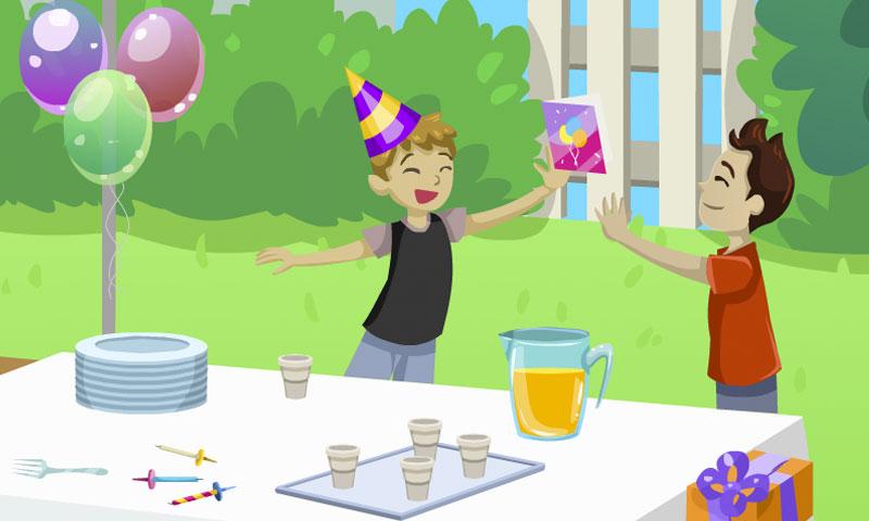 Journée d'anniversaire - SpeakyPlanet
