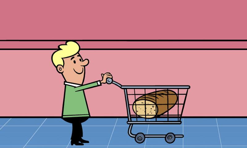 Au supermarché : rayon petit déjeuner - SpeakyPlanet