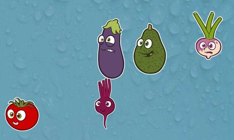 Légumes en pagaille - SpeakyPlanet