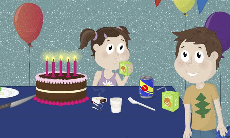 Enquête à l'anniversaire - SpeakyPlanet