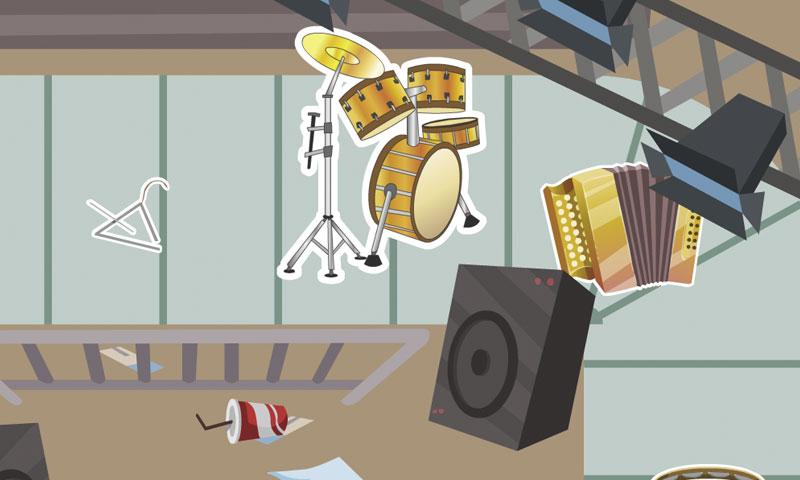 Les instruments en folie - SpeakyPlanet