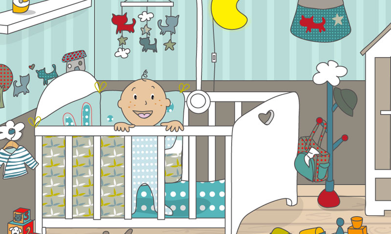 Babys Zimmer - SpeakyPlanet