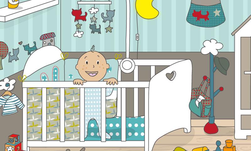 Baby's bedroom - SpeakyPlanet