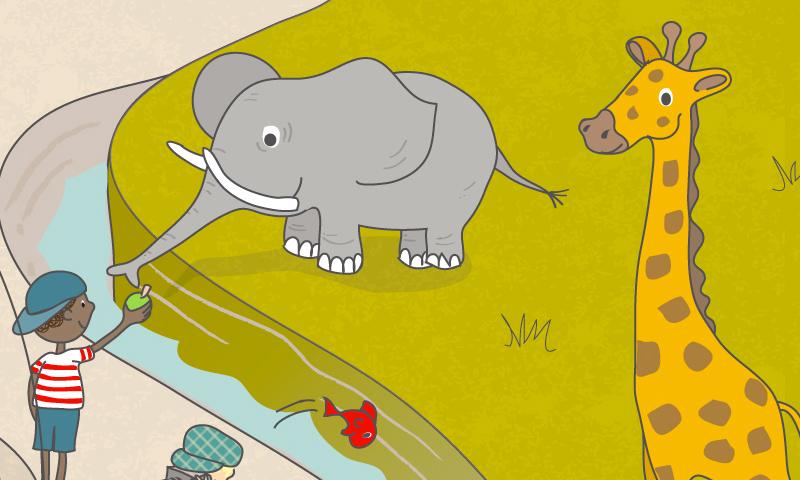 Le zoo - SpeakyPlanet